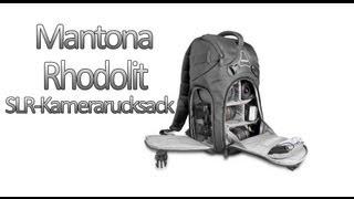 Mantona Rhodolit SLR-Kamerarucksack   Unboxing & kleines Review   HD