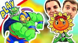 БолтушкА Использует Новых РАСТЕНИЙ против ГЕРОЕВ ПРоХоДиМЦа! #186 Игра для Детей