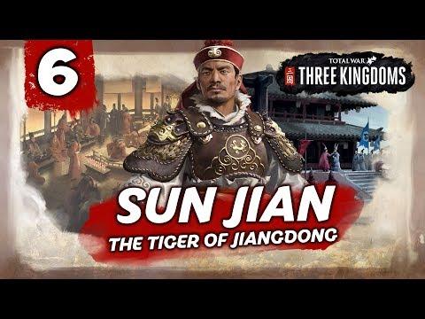 A LEGENDARY STRATEGIST! Total War: Three Kingdoms - Sun Jian - Romance Campaign #6