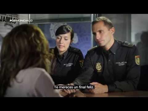 Vídeo de la campaña contra la violencia de género. / CNP