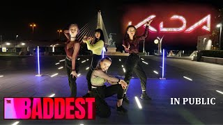 [KPOP IN PUBLIC CHALLENGE] K/DA - THE BADDEST - Dance Cover by Whisper Crew from Poland  1TAKE VIDEO