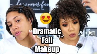 Dramatic Fall Makeup | Faceovermatter