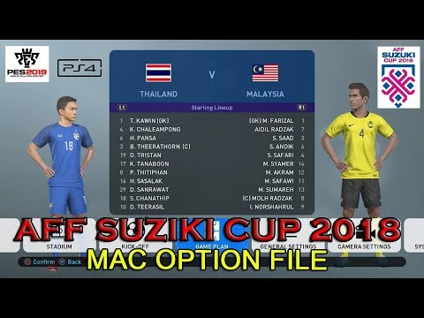 Option File FIFA fifpro world PES2019 PS4 - смотреть онлайн на Hah Life