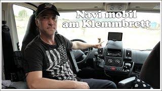 Navigationsgerät mobil am Klemmbrett befestigen - Wohnmobil Technik Tipps