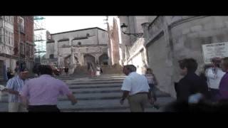 preview picture of video 'A visit of the city Burgos (Spain), part 1'