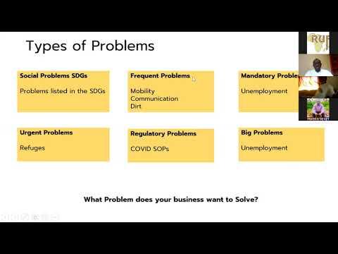 Entreprenuership Training Day 1 - YouTube
