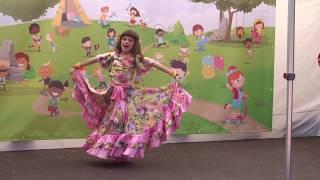 Romský ruský tanec - sólo / Dětský den KHAMORORO 2017