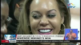 President Uhuru free to appoint Mwende Mwinzi as Kenya's Ambassador to S.Korea