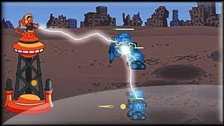 Tesla Defense - Game preview / gameplay (1-13 lvl)