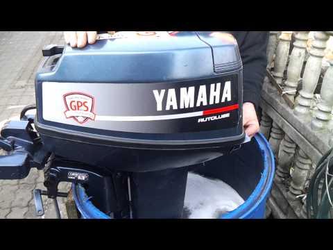 1990 Yamaha 20 hp outboard motor 2 stroke (dwusuw) - смотреть онлайн