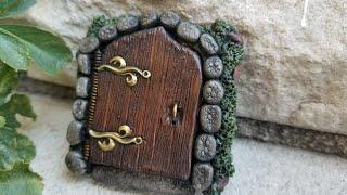 PolyClay Fairy Door That Opens!!