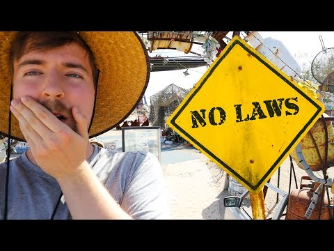 Spending 24 Hours In A City With No Laws