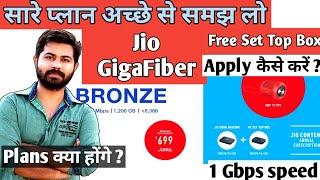 Jio Gigafiber broadband full plans prices and details after 5 September