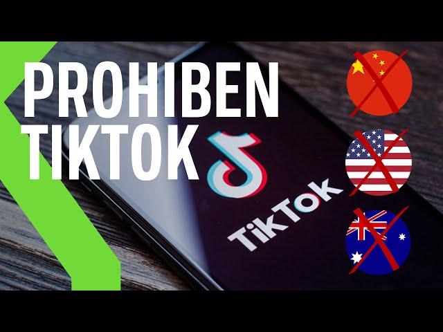 PERSECUCIÓN A TIKTOK por la PRIVACIDAD: Prohibido en India y Hong Kong y Estados Unidos lo plantea