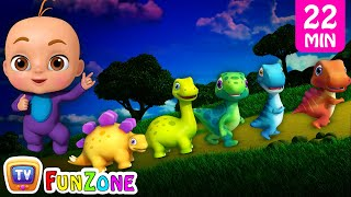 Five Little Dinos & Many More 3D Nursery Rhymes & Songs for Kids - Dinosaur Rhymes by ChuChu TV
