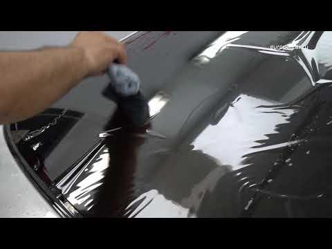 Тонировка заднего стекла автомобиля своими руками. Видео урок 1 (Tutorial video How to Tint a  car)