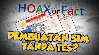 Hoax or Fact: Pembuatan SIM Kolektif Tanpa Tes?