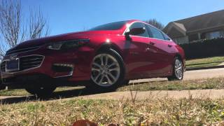 2016 Chevy Malibu crystal red tintcoat
