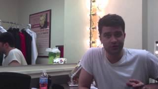 Yuletide Teaser! Backstage with Ben Crawford