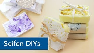 DIY SEIFE selber gießen und verpacken   perfektes Geschenk   VERLOSUNG