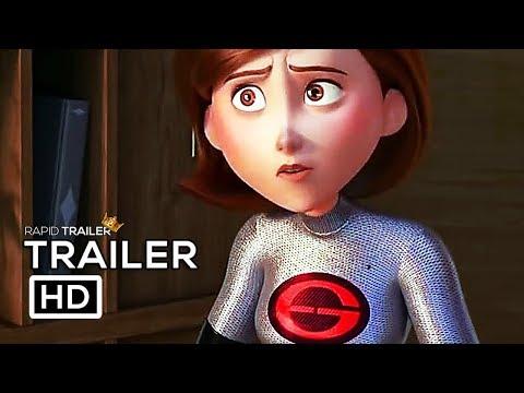 INCREDIBLES 2 Elastigirl New Suit Trailer (2018) Disney Superhero Movie HD