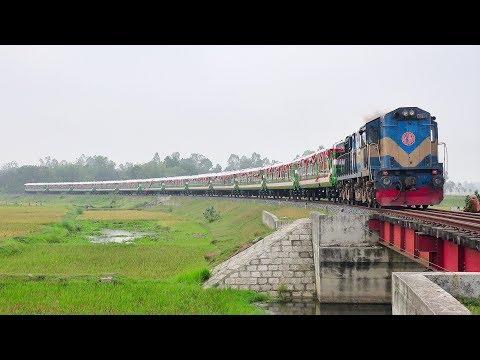 Panchagarh Express Train || Inaugural Day Return Trip || Dhaka to Panchagarh new Train 2019