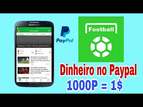 Muito Fácil!! Ganhe 10$ no Paypal Convidando Amigos 2018 - All Football
