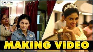 Oviya, Taapsee, Shruti Haasan - Photoshoot Making Video | Karthik Srinivasan Calendar Shoot 2018