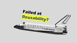 The Space Shuttle, a failed attempt at Reusability?