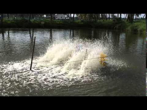 2 HP Paddle Floating Aerator