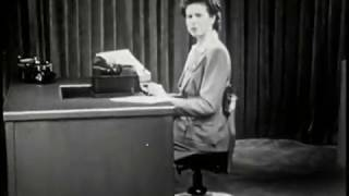 Basic Typing Lessons from 1944 - Part 1