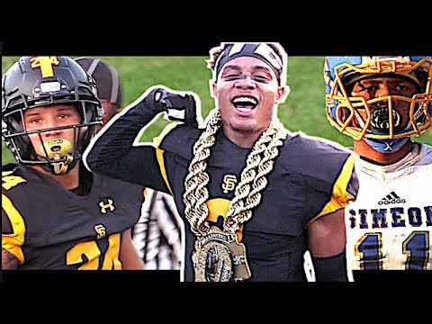 #2 Team in the NATION St. Frances Academy (Baltimore MD) vs Simeon (Chicago IL) Highlight Mix