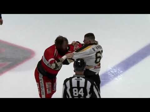 Marc-Olivier D'Amour vs. Chris Cloutier