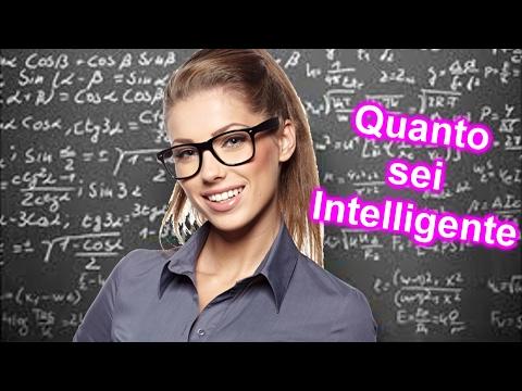 10 Segnali che indicano la tua Intelligenza