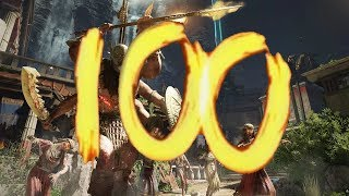 ANCIENT EVIL - ROUND 100 HIGH ROUNDS BOSS FIGHT EASTER EGG! (Black Ops 4 Zombies)