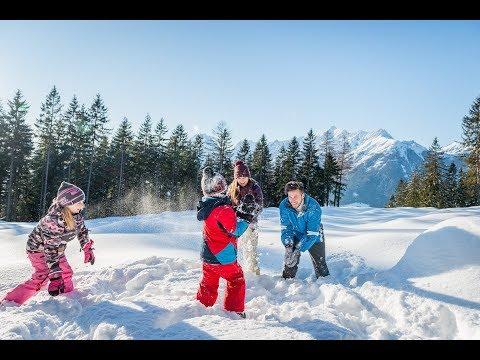Winterzauber mit der Familie
