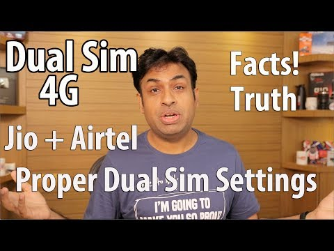 4G Dual Sim Smartphones Truth & Settings You Should Know