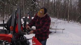 #12 Kubota B2601 Compact Tractor Work Light Install Final!