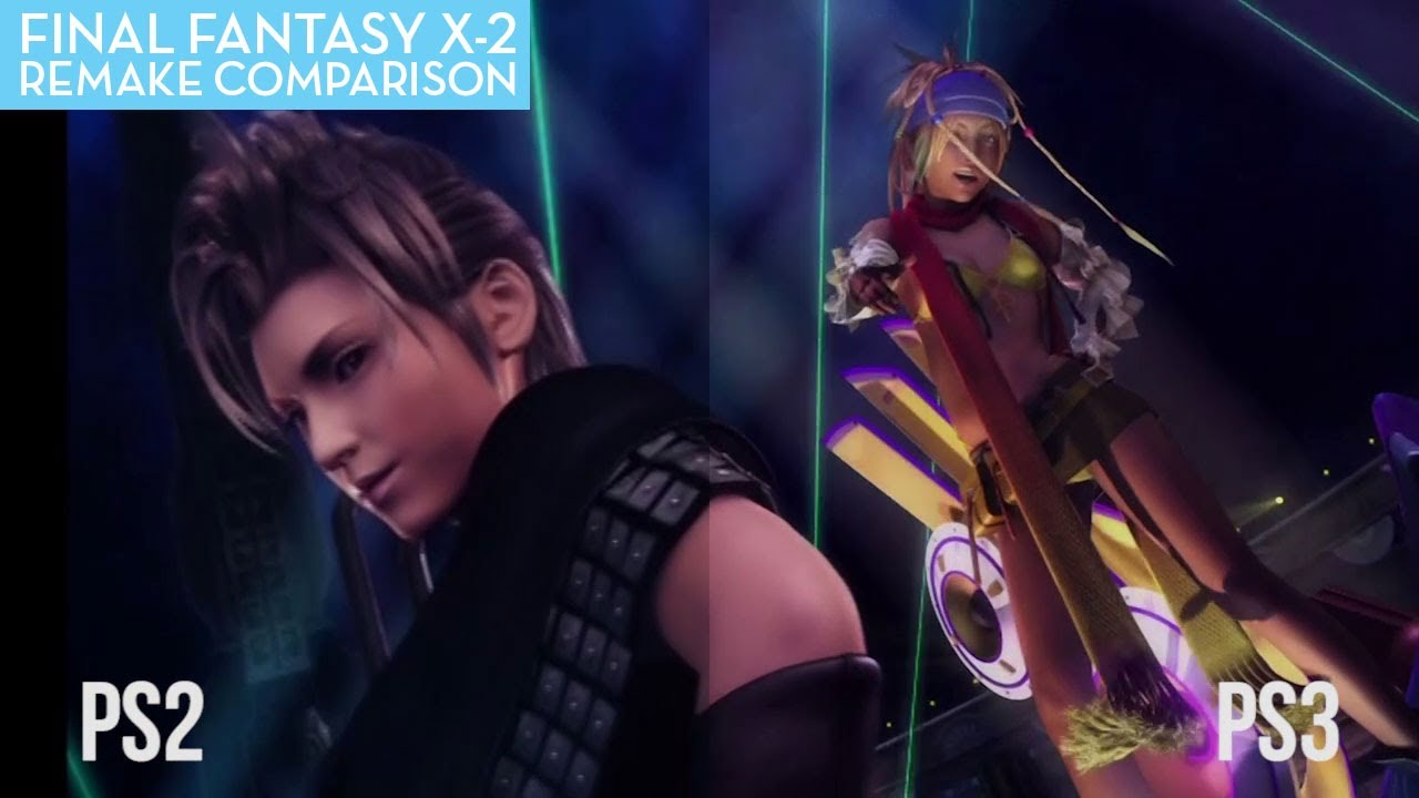 A Final Fantasy X-2 Comparison: HD Vs SD