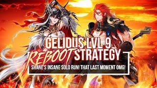 GELIDUS (Lvl 9) REBOOT ~Single Run Clear!~ | Seven Knights