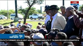 Police minister addresses Mahikeng residents