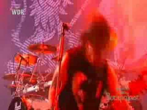 Machine Head - Aesthetics of Hate (Rock Am Ring 2007) online metal music video by MACHINE HEAD