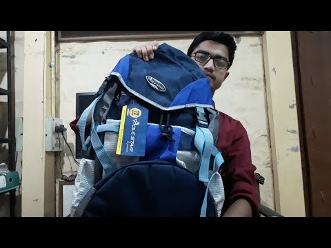 Polestar 40ltr volume || travelling Rucksack || Review|| Seven Media Palace.