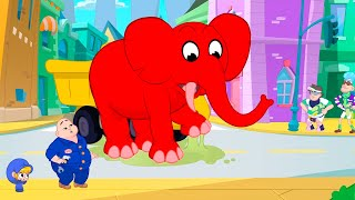 The Glue Bandits + More Adventures   My Red Fire Truck   Kids Cartoons   Mila and Morphle