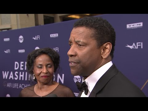 "As he picked up an AFI Life Achievement Award, actor Denzel Washington looked back on his early career and praised ""old friend"" Spike Lee. (June 7)"