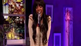 Kelly Rowland singing acapella