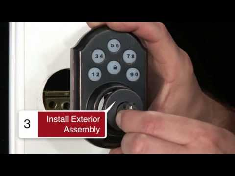 How To Install Kwikset Z-Wave Deadbolt – Link Interactive