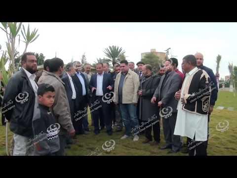 وزير الحكم المحلي يزور بلدية العجيلات