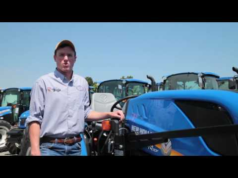 2016 New Holland Tier 4 Vineyard Tractor