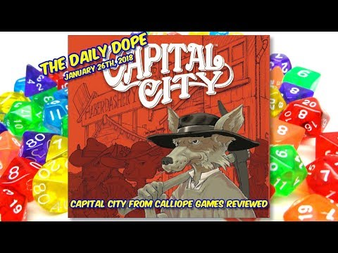 'Capital City' Reviewed on The Daily Dope for January 26th, 2017